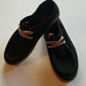 af34b5d8fd Vans Shoes - Vans Mens Rata Vulc SF Black Light Gum Canvas Surf
